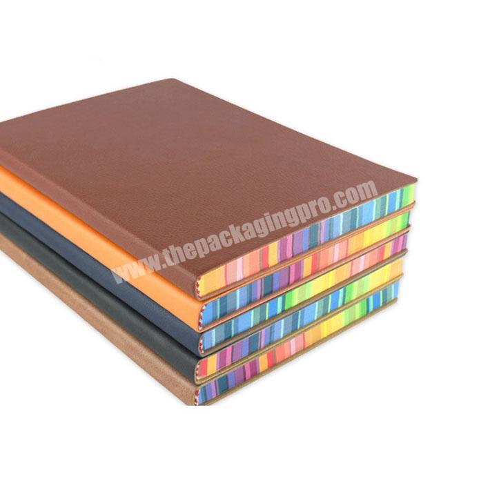 New hot sale pages custom printed perfect bound notebook