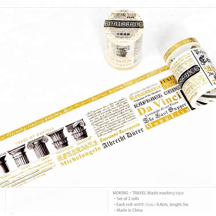 nice price decor washi tape foil washi tape for customer