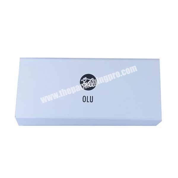 Nice two color mix printing small folding gift box with magnet closure