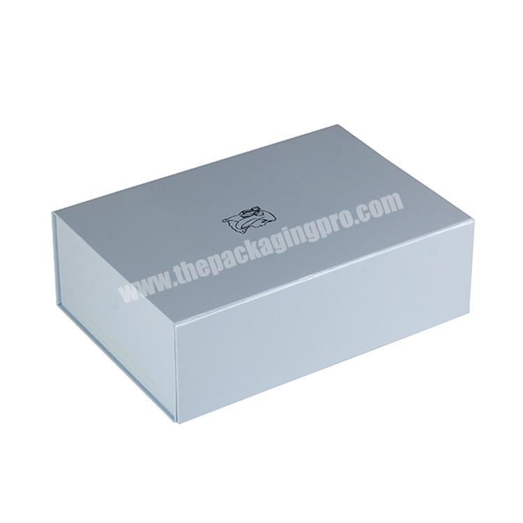Oem Cheap Biodegradable Paper Cardboard Packaging Magnetic Folding Jewelry Perfume Watch Gift Box