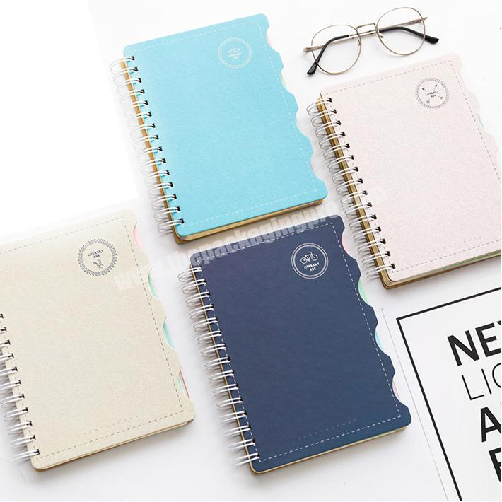 Office and school supplies custom print hardcover spiral notebook