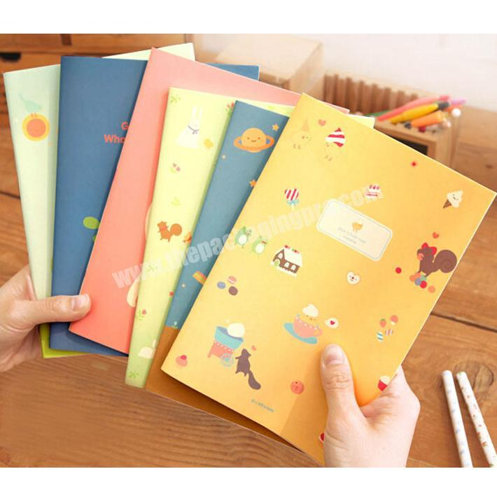 Custom Office supplies promotional recycle custom paper blank notebook