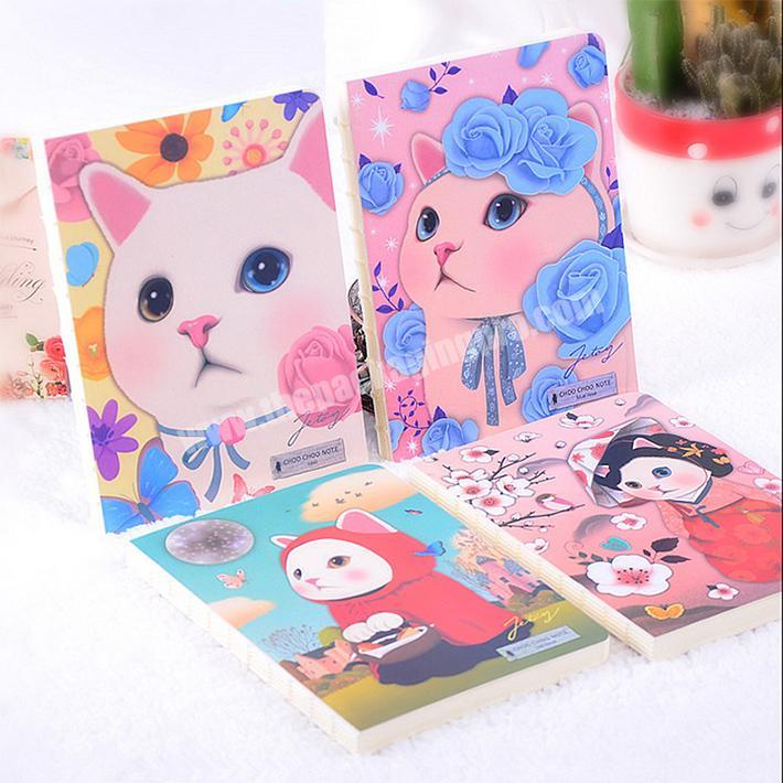 Wholesale Office supplies promotional recycle custom paper blank notebook