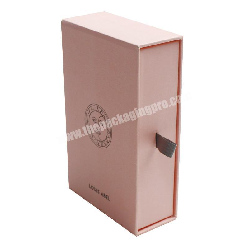 Online Shopping Drawer Style Jewelry Packaging Box with Custom Logo