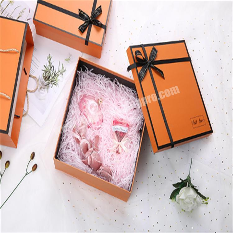 packing box gift box with clear lid gift boxes