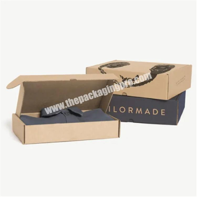paper boxes custom clothing packaging box packaging boxes