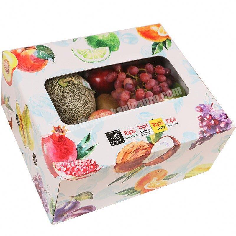 Paper Craft corrugated banana package carton box with large size