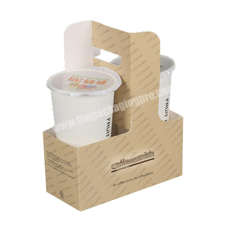 paper folding box custom packaging box take away boxes with handle