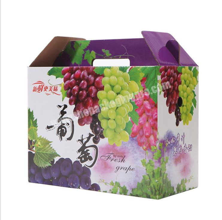 paper folding box shipping boxes with handle cardboard shipping boxes