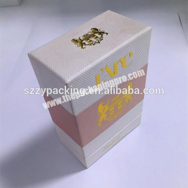 Perfume box design templates perfume sample gift box with inlay