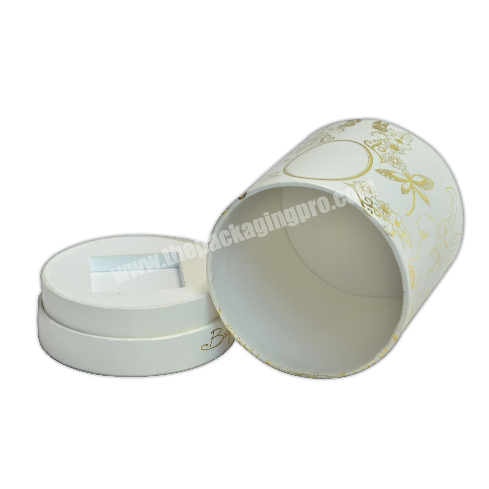 Perfume Paper Box Cylinder Tube Container Paper Box for Perfume Packing
