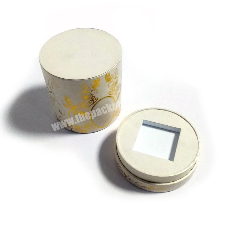 Factory Perfume Paper Box Cylinder Tube Container Paper Box for Perfume Packing