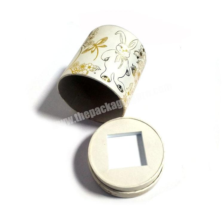 Wholesale Perfume Paper Box Cylinder Tube Container Paper Box for Perfume Packing
