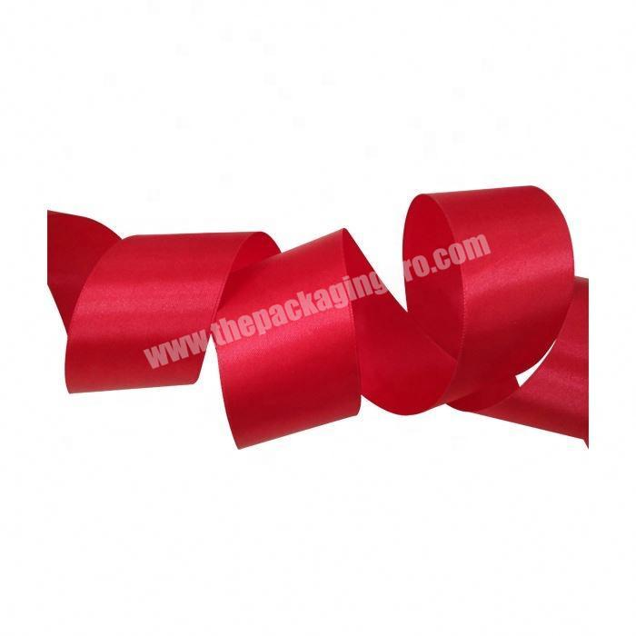 Factory Personalized colorful 100% polyester satin ribbon