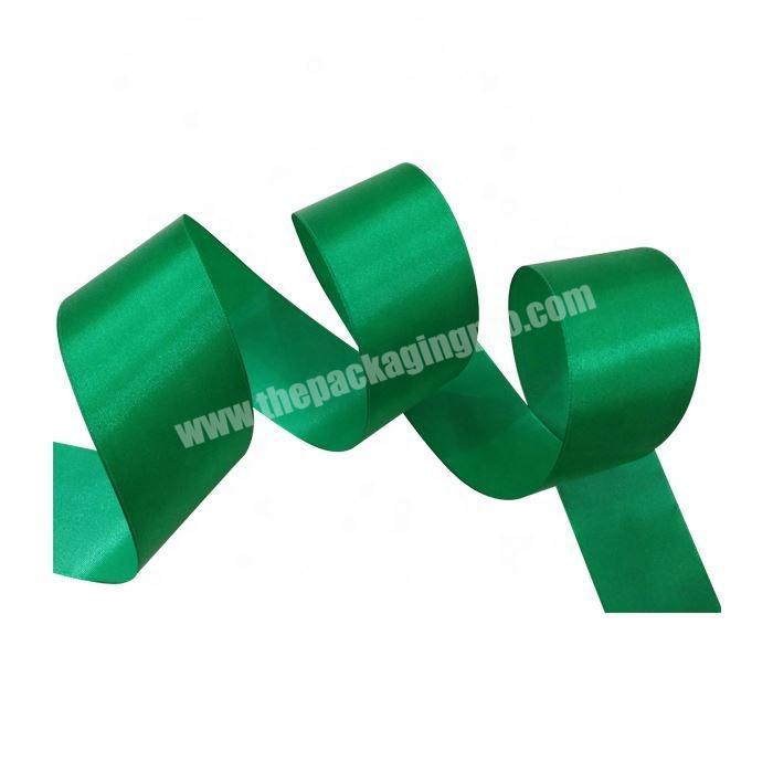 Supplier Personalized colorful 100% polyester satin ribbon