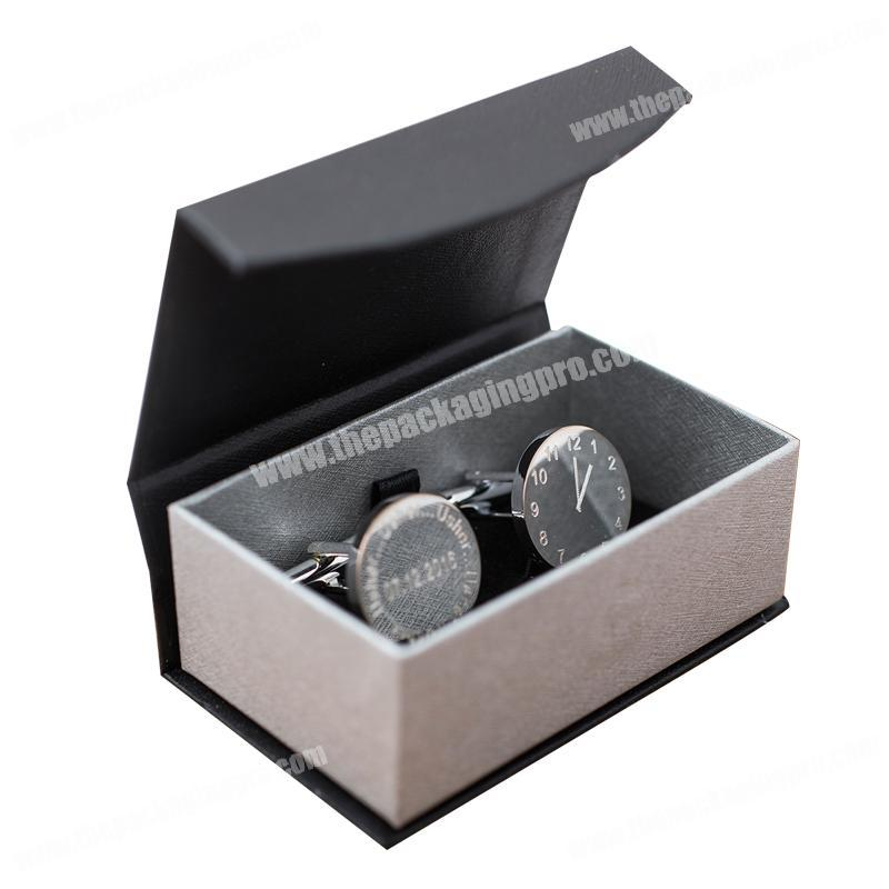 Personalized design cardboard make your own gift cufflinks packaging box