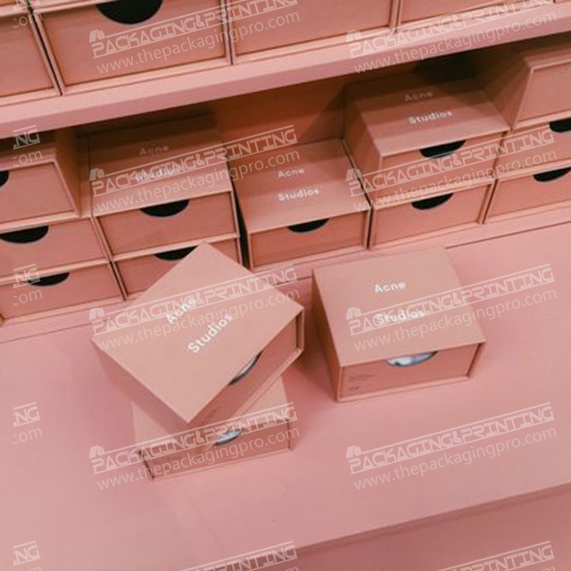 Wholesale Pink Paperboard Drawer Box