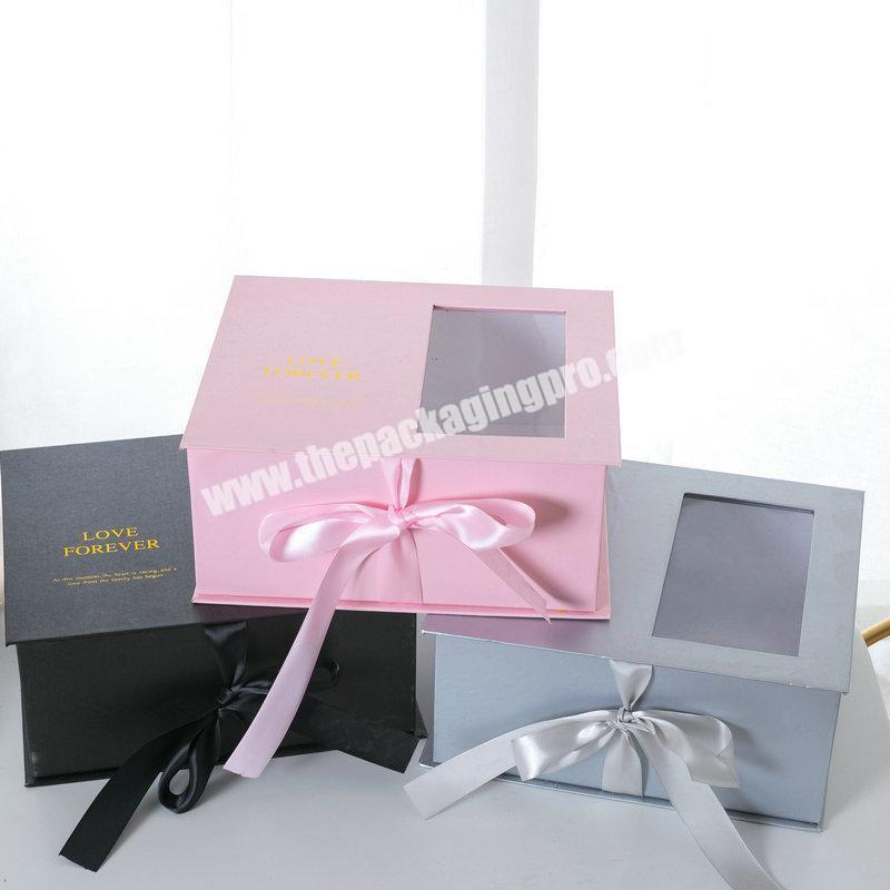Popular Rose Flower Box For New Design Luxury Gift Box With Window