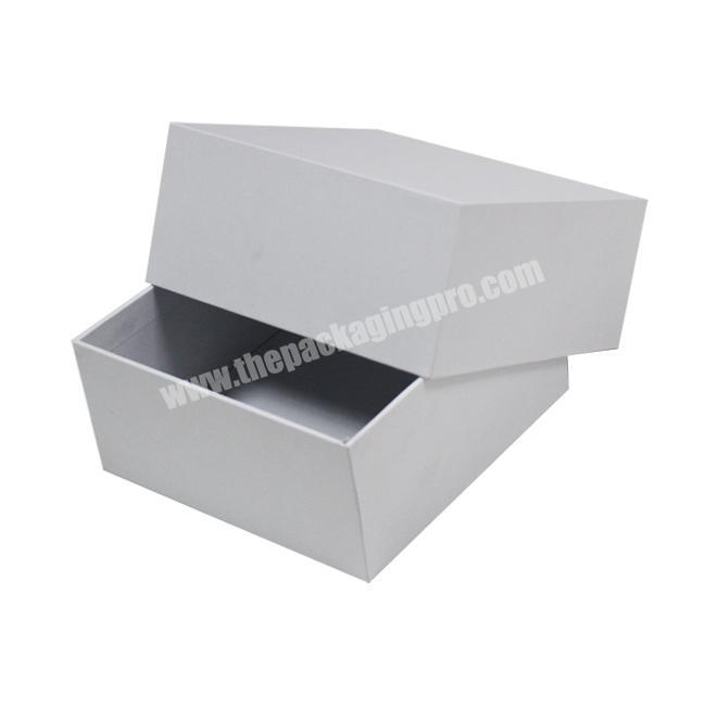 Printed Color Shipping And Packaging Towel Boxes, Hard Cardboard Paper Custom Clothing Shoe Scarf Box with Lid