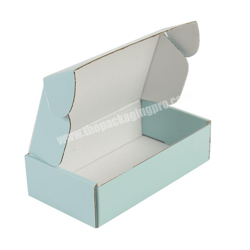 Printed Foldable E Flute White Corrugated Packaging Box