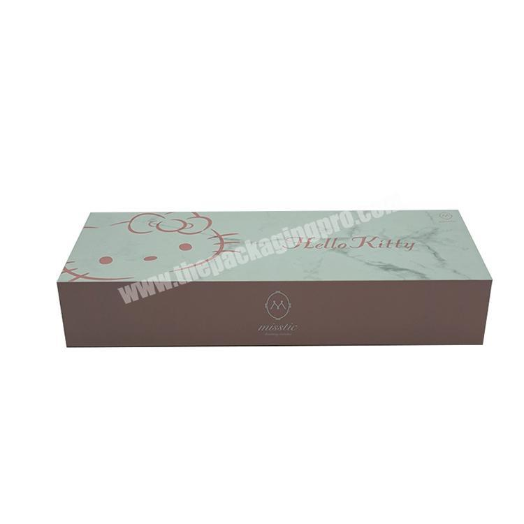 private label luxury gift box custom paper hair extension packaging