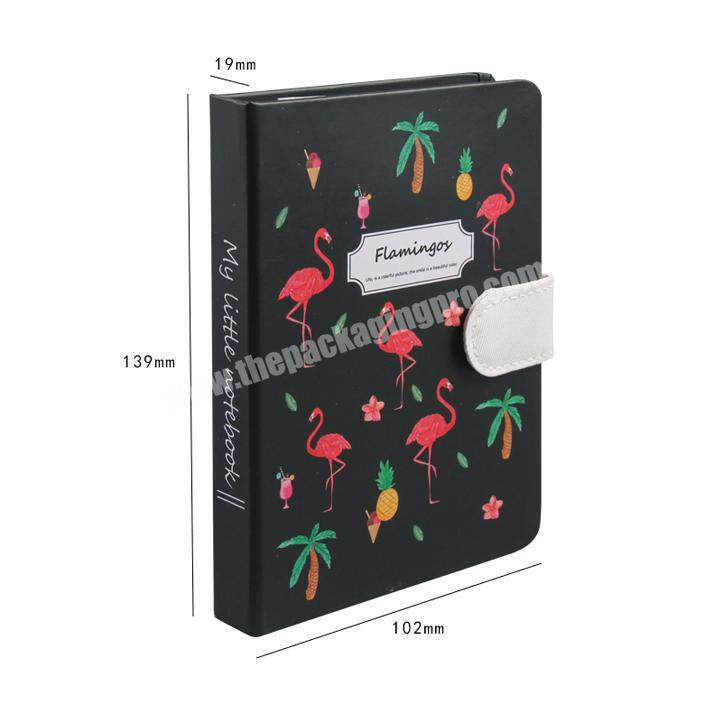Professional custom design hardcover notepad a5 notebook
