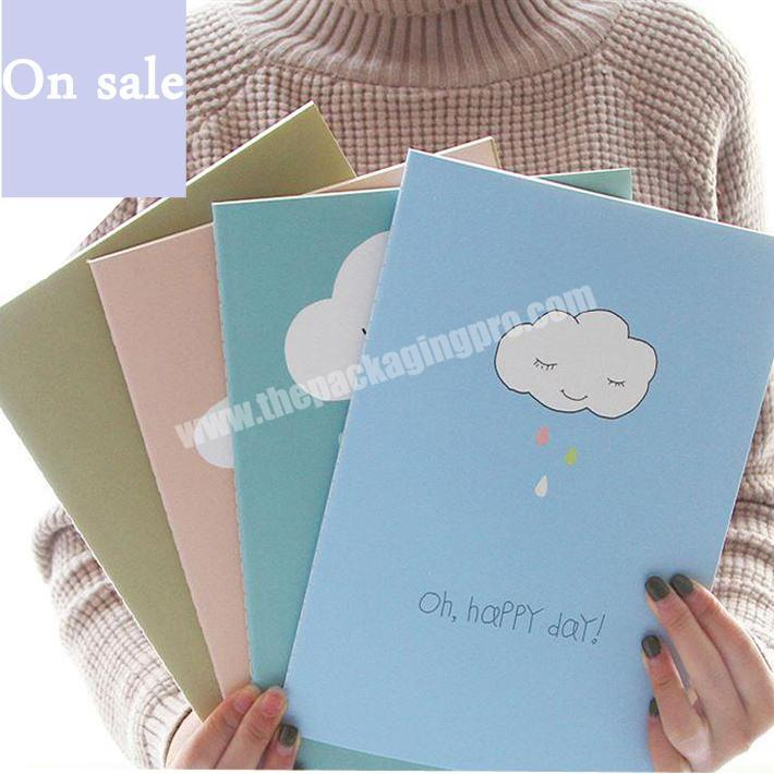 Promotional fancy mini custom printing notepad softcover notebook