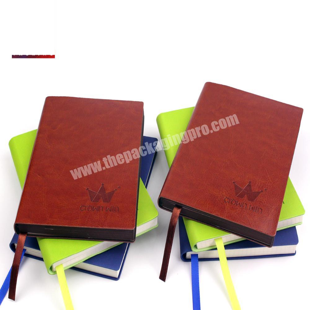 Promotional Joy Top Notebook With Leather Cover Crownwin Packaging