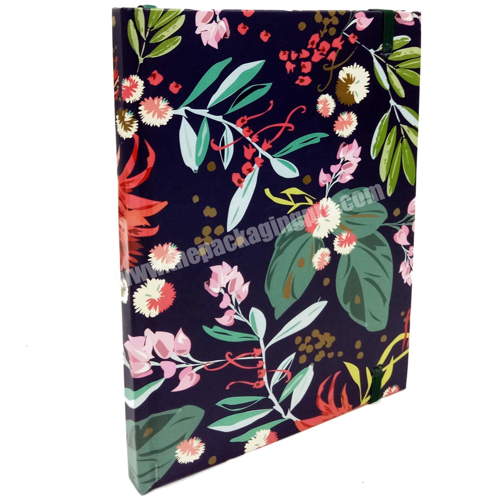 Promotional Paper Cover Diary Custom Blank Pages Notebook Writing Book