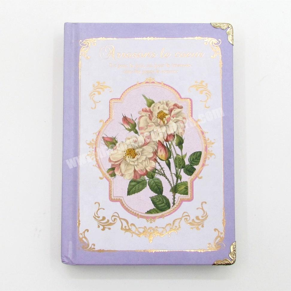 Promotional Paper Cover Journal Notebook Custom Printing Inner Pages Diary