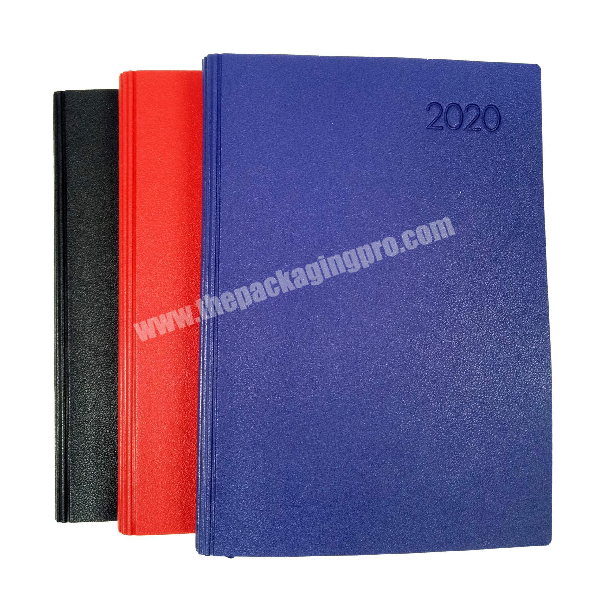 Promotional PVC Leather Dairy Soft Cover Notebook Personalized Journal