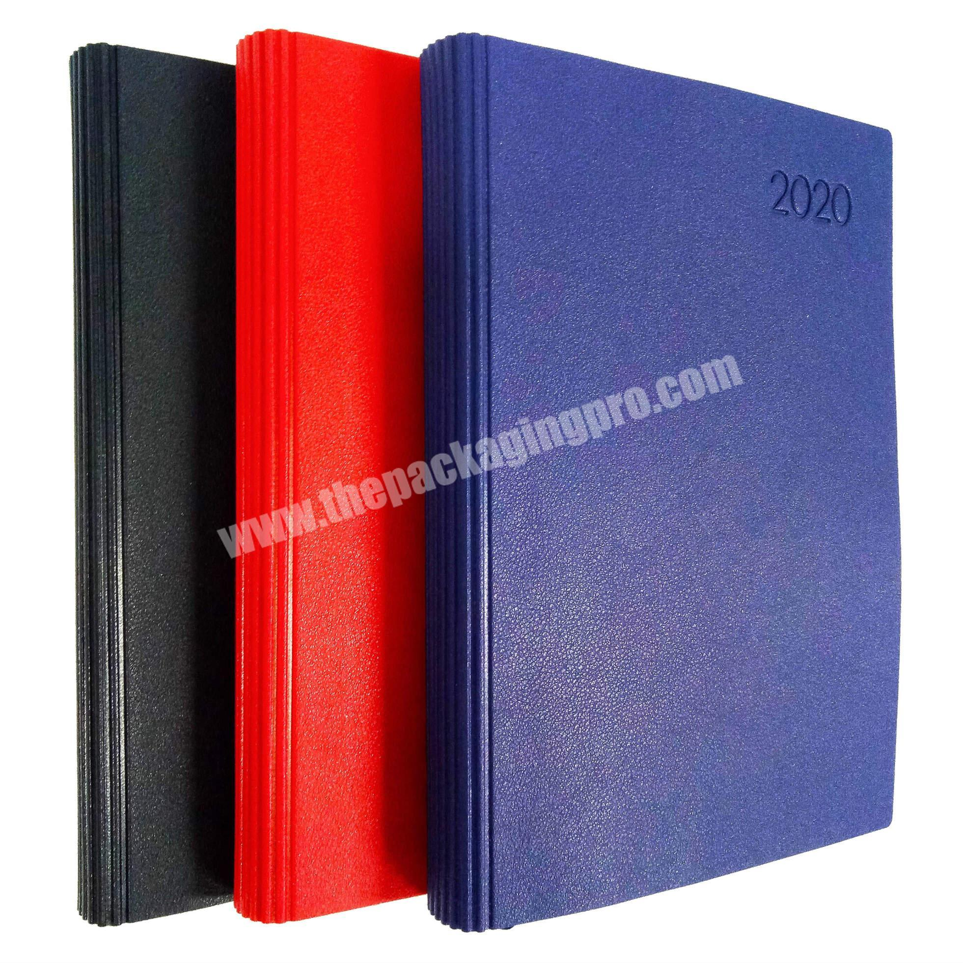Promotional school student diary recycled paper notebook academic planner