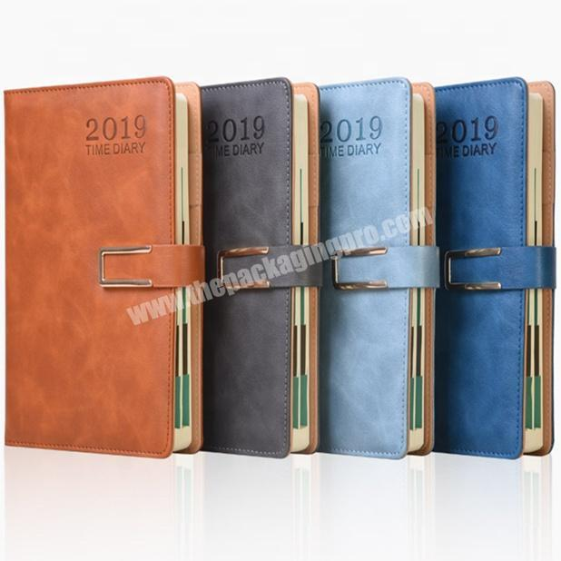 Promotional Student Notebook Custom Diary Personal Leather Planner