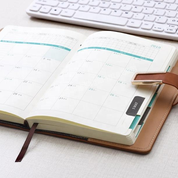 Wholesale Promotional Student Notebook Custom Diary Personal Leather Planner