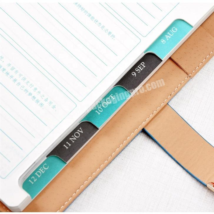 Shop Promotional Student Notebook Custom Diary Personal Leather Planner