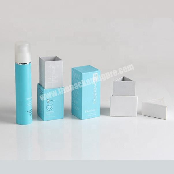 Manufacturer quality cosmetic cardboard packaging box for lipgloss