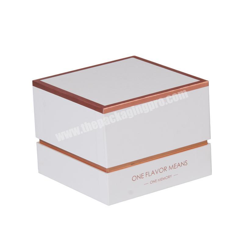 Recyclable Accept Custom Order Candle Glass Jars Packaging Boxes candle gift box candle box