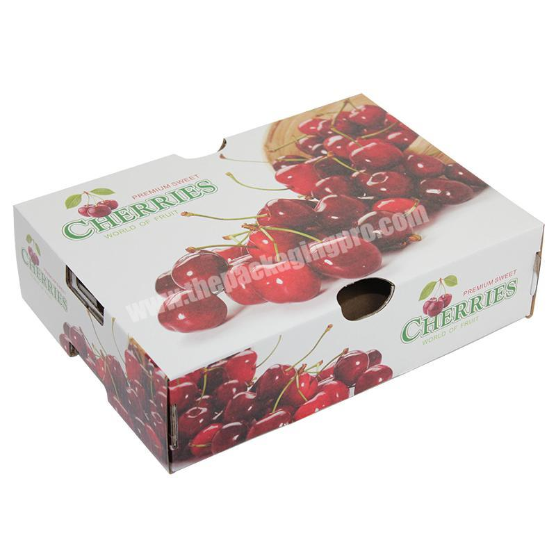 Recyclable corrugated banana fruit box with 5% discount