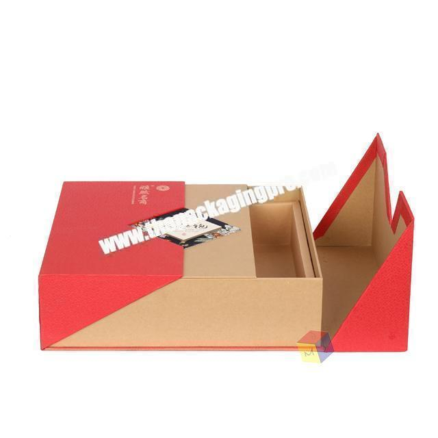 Custom recyclable customized tea box paper packaging printed