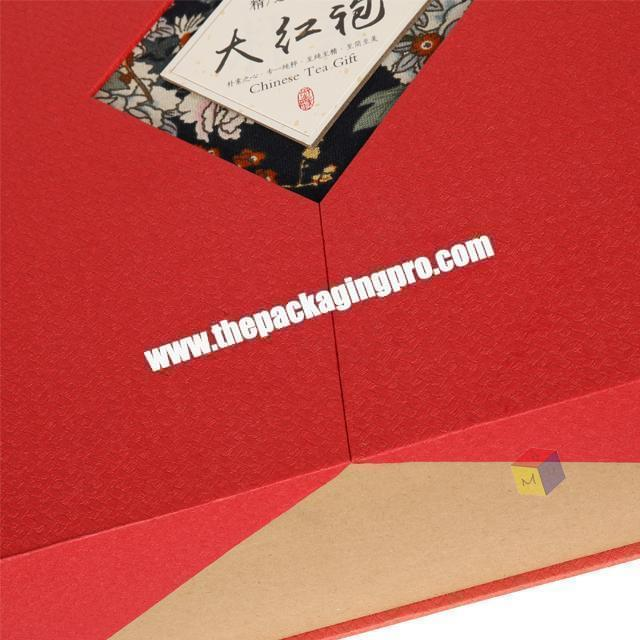 Shop recyclable customized tea box paper packaging printed