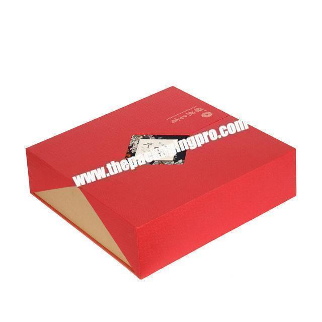 Manufacturer recyclable customized tea box paper packaging printed