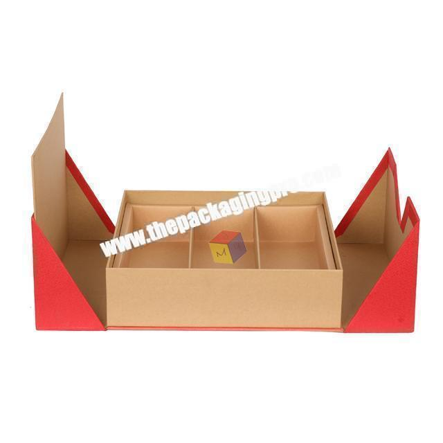 Factory recyclable customized tea box paper packaging printed