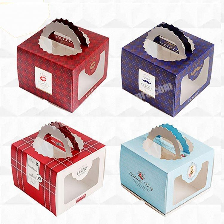 Shop Recyclable White Paper Cake Boxes Custom Logo Printed Manufacture