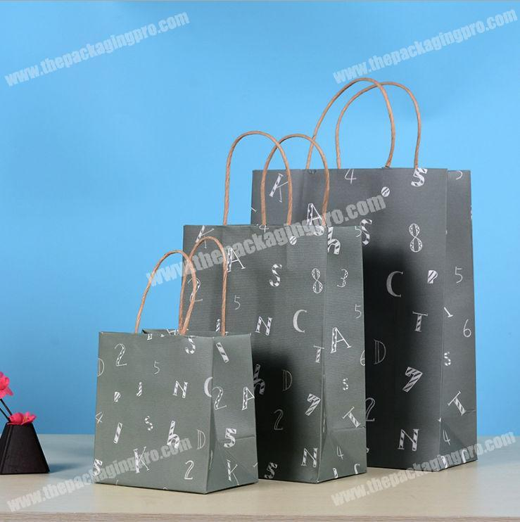 recycle packaging hdpe kraft paper bag for food