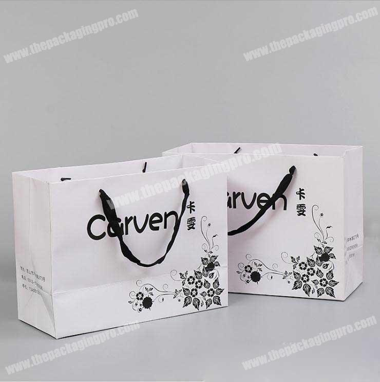 Recycling Material printed carrier printed paper bag