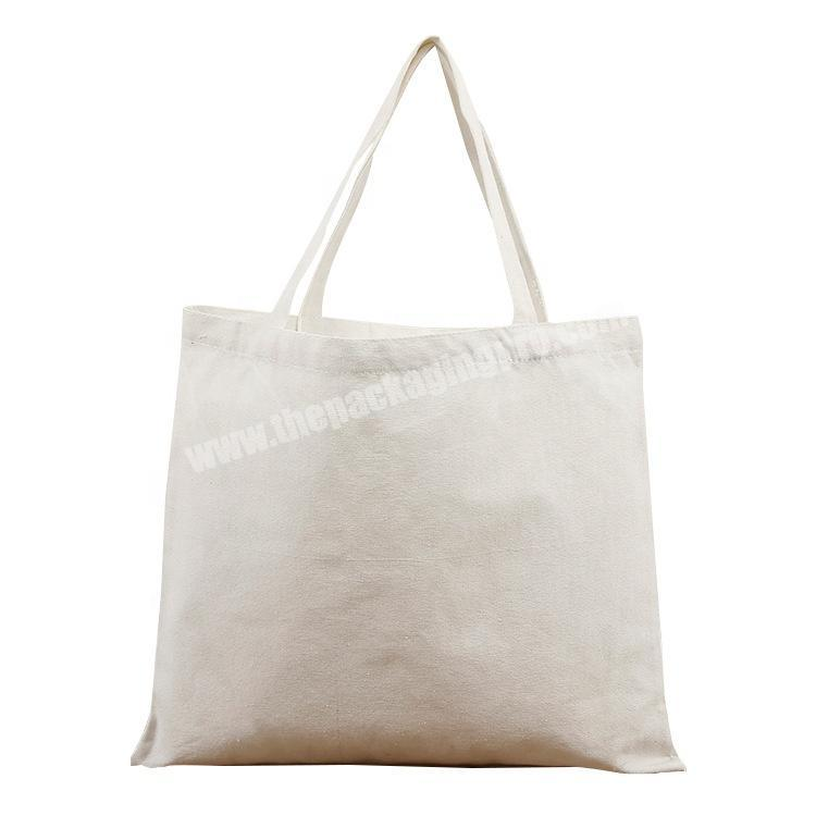 Reusable Eco Friendly cotton tote grocery bags with custom printed logo linen tote bag