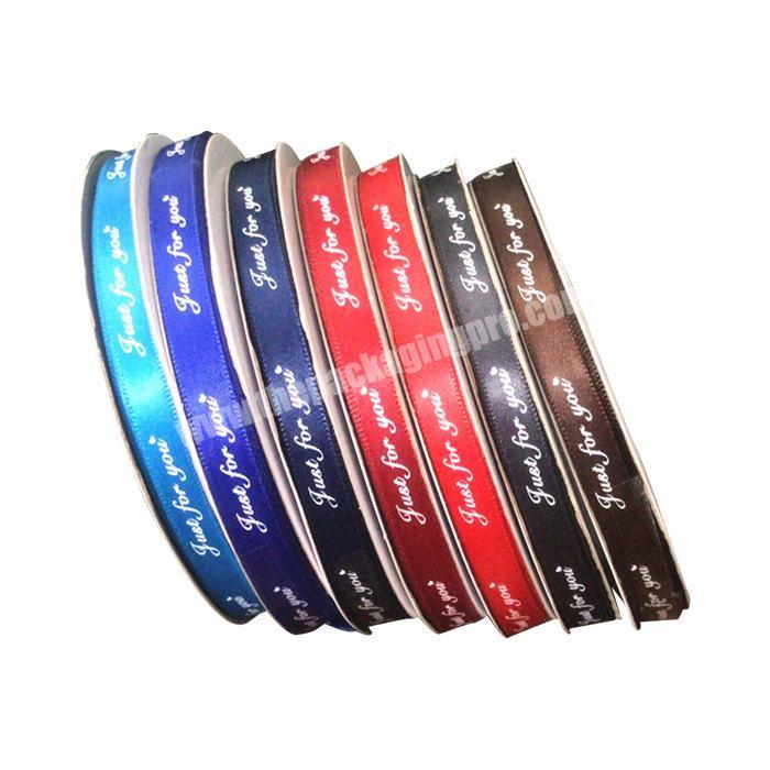 Satin Ribbons Factory In China Satin Ribbon With Logo