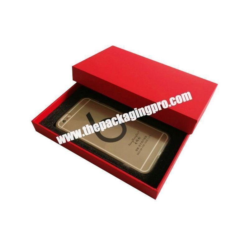 Shenzhen Custom Printed Kraft Cell Phone Covers Case Paper Packaging Boxes
