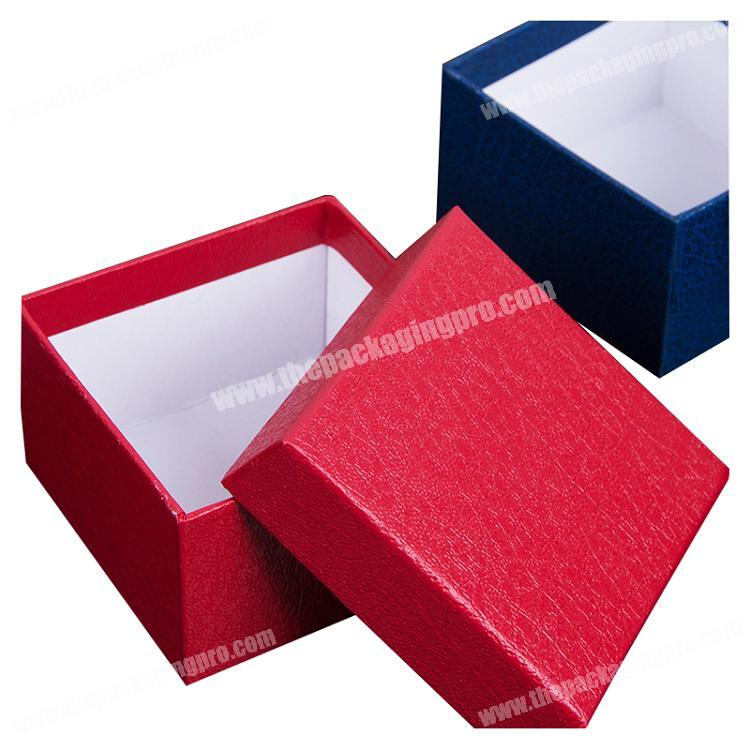 Shenzhen maxcool custom design printing cube shape rigid cardboard lid and base gift box packaging