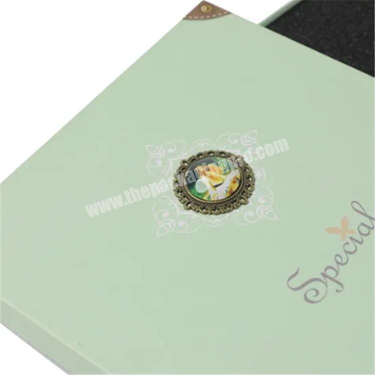 shipping boxes cardboard gift box with window lid custom packaging box
